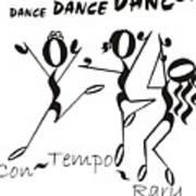 Con-tempo-rary Art Print