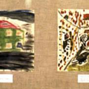 Concentration Camp Art Art Print