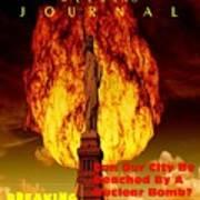 Concept Magazine Cover For The Imaginary New York Weekend Journal 5 Jan 2018 V2 Art Print