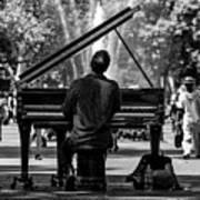 Concert In The Park Art Print