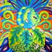 Concha Art Print