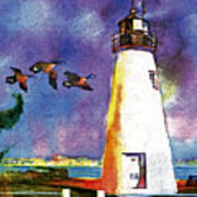 Concord Point Lighthouse Art Print by Dean Gleisberg