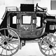 Concord Stagecoach Art Print by Photo Researchers, Inc.