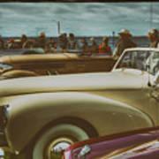 Concours Vintage Car Show Art Print