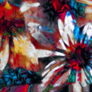 Cone Flower Fantasia I Art Print