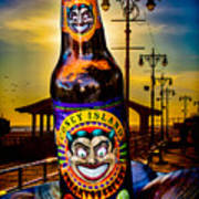 Coney Island Beer Art Print