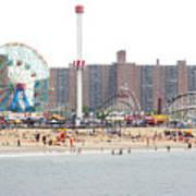 Coney Island, New York Art Print