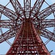 Coney Island Parachute Jump 01 Art Print