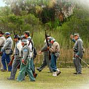 Confederate Advance Art Print