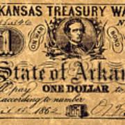Confederate Banknote Art Print