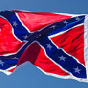 Confederate Flag 3 Art Print