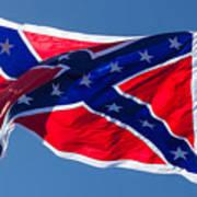 Confederate Flag 4 Art Print