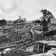 Confederate Fort Art Print