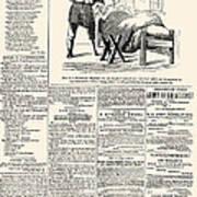 Confederate Newspaper Art Print