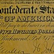 Confederate States Art Print