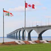 Confederation Bridge 5524  Art Print