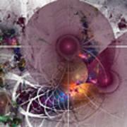 Confetti - Fractal Art Art Print