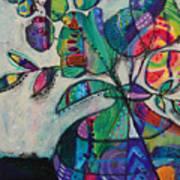 Confident Blooms.marymconner Art Print