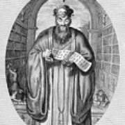 Confucius (c551-479 B.c.) Art Print