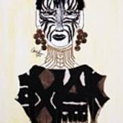 Congo Lady Art Print
