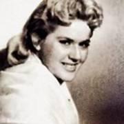 Connie Stevens, Vintage Actress Art Print