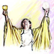 Consecration  Art Print