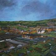 Consett, Blackhill, County Durham Art Print