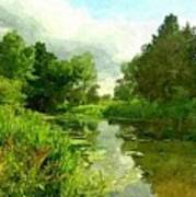 Constable Country Print by Wu Wei
