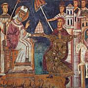 Constantine I (c280-337) Art Print