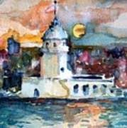 Constantinople Turkey Art Print