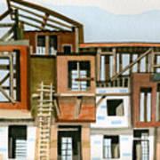 Construction 5 Art Print by Ashley Lathe