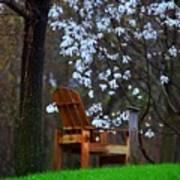 Contemplation Chair Art Print