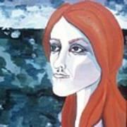 Contemplation Of Serenity Art Print by Pamela Maloney