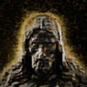 Contemplative Christ Art Print