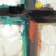 Contemporary Cross 2- Art By Linda Woods Art Print