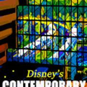 Contemporary Window To The World Art Print