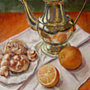 Continental Breakfast Art Print