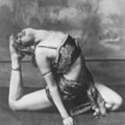 Contortionist Art Print by General Photographic Agency