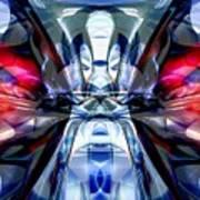 Convergence Abstract Art Print by Alexander Butler