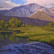 Convict Creek-eastern Sierras Art Print