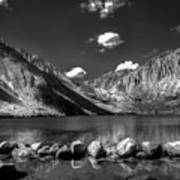 Convict Lake Near Mammoth Lakes California Art Print by Scott McGuire