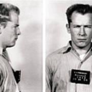 Convict No. 1428 - Whitey Bulger - Alcatraz 1959 Art Print