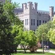 Cook Hall Illinois State Univerisity Art Print