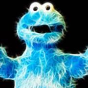 Cookie Monster - Sesame Street - Jim Henson Art Print