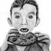 Cookie Surprise  Art Print