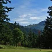 View Of Underwood Mountain Art Print