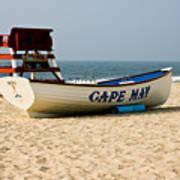 Cool Cape May Beach Art Print