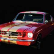 Cool Mustang Art Print