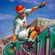 Cool Skater Art Print