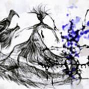 Cool Sketch 128 Art Print